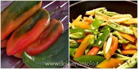 come cucinare i peperoni in padella peperoni in padella dolci e non