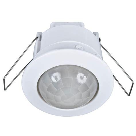 motion sensor recessed light eye 360 recessed pir security sensor brilliant lighting