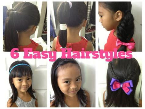 Easy Hairstyles For To Do By Themselves by 6 Easy Hairstyles For Episode 3 Highly