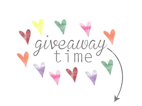 Giveaway Time - image gallery giveaway time