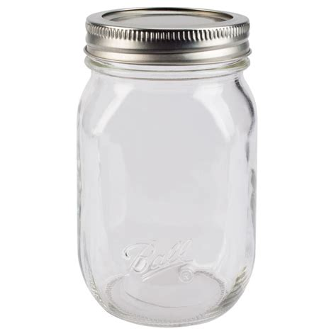 what is a jar 174 smooth sided regular pint 16 oz glass jars 12 count