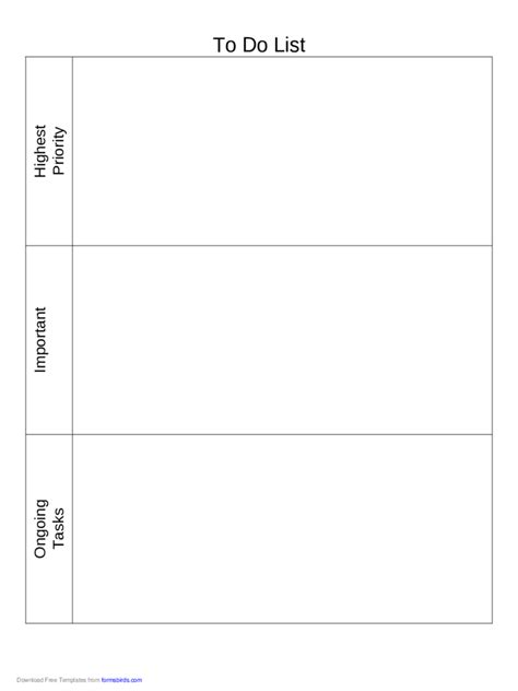 priority list template to do list template 11 free templates in pdf word