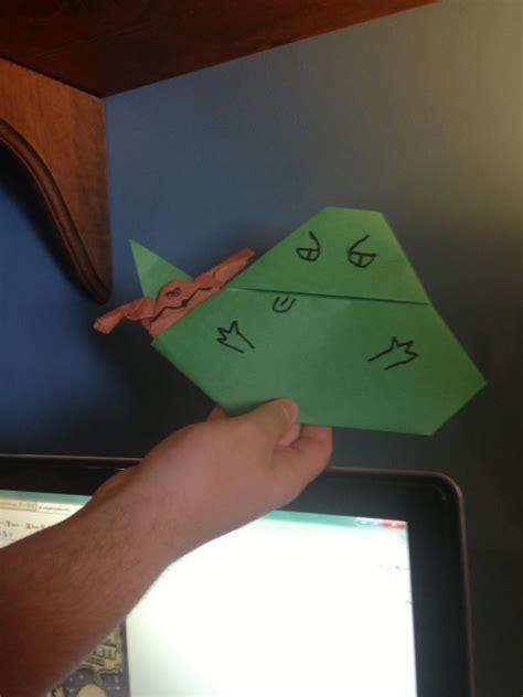Origami Salacious Crumb - bobafett1212 and ydamasters jabbas origami yoda