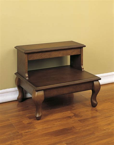 Bed Step by Attic Cherry Bed Steps Antique Cherry 961 535