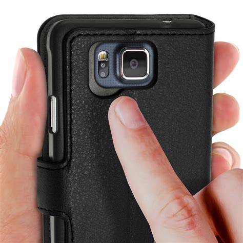Leather Samsung Galaxy Alpha G850 book style pu leather cases for samsung galaxy alpha galaxy alpha g850 igadgitz