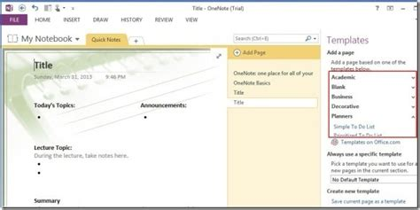 how microsoft onenote 2010 can improve productivity organization