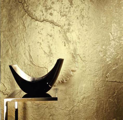 Tapete Schiefer Design by Stein Tapete Schiefer Mit Gold Bronze Kupfer Silber