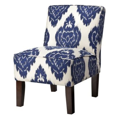 navy blue pattern accent chair slipper chair abstract blue floral 149 99 target grey