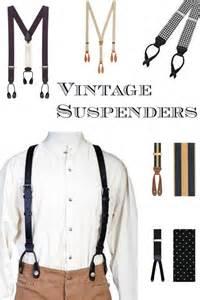 Men s vintage style suspenders