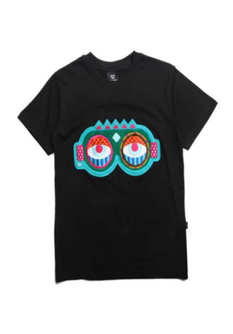 Big Eye Tshirt Black mcm big t shirt black