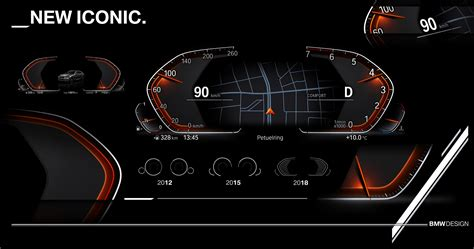 bmws  instrument cluster design  mighty slick