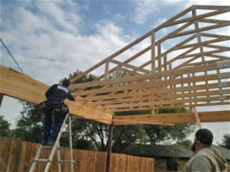 building a big carport and how laminated beams work