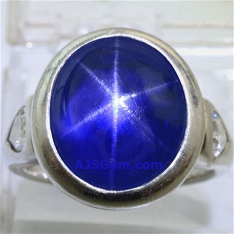 Purple Sapphire Starsrilanka Ring Silver blue and pink sapphire gemstone information at ajs gems
