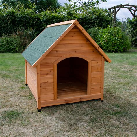 xl kennel large wooden kennel pet house outdoor shelter animal home apex roof xl