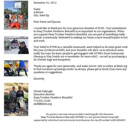thank you letter after non profit organization creating more donor centered thank you letters one