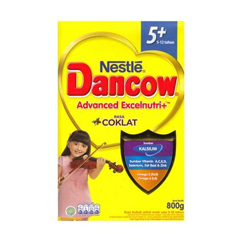 Dancow Excelnutri Jual Nestle Dancow Advanced Excelnutri Plus 5 12 Tahun