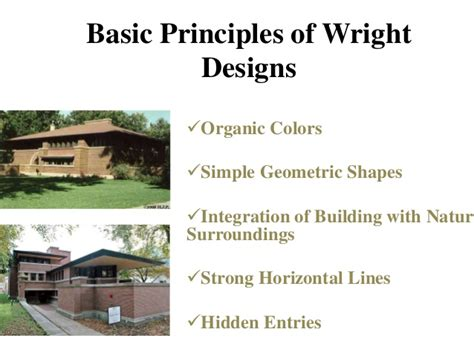 Frank Lloyd Wright Philosophy | frank lloyd wright