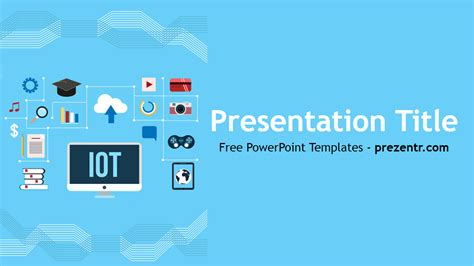 free internet of things powerpoint template prezentr