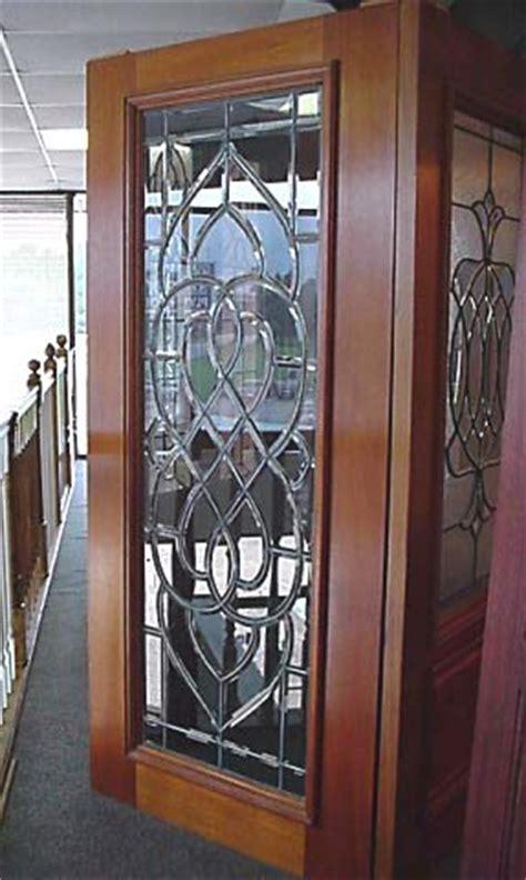 Custom Made Beveled Glass Doors Custom Made Glass Doors
