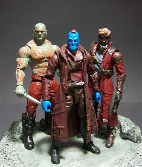 Marvel Legends Series 3 75in Yondu yondu marvel legends custom figure custom figures yondu marvel