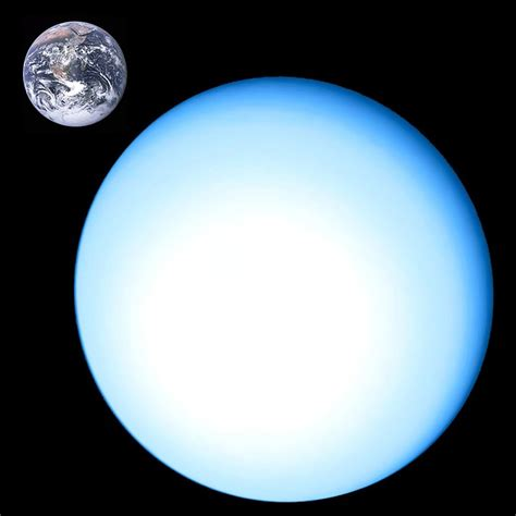 what is the size of saturnpared to earth kostenloses foto uranus planet gasplanet weltraum