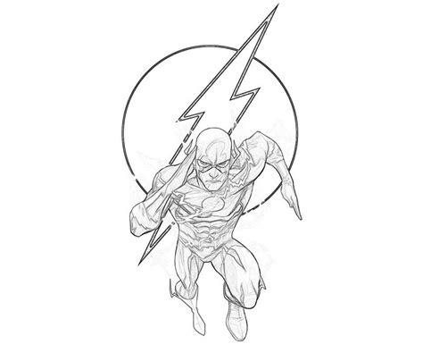 coloring page flash superhero flash 7 superheroes printable coloring pages