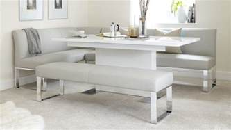 Corner Bench Dining Room Table by 7 Seater Right Hand Corner Bench And Extending Dining Table