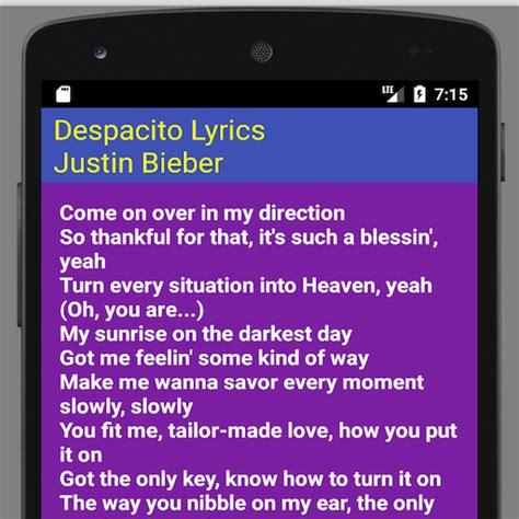 despacito zedge descargar translation lyrics despacito google play