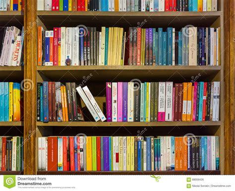 porto portugal september 09 2016 bookshelf in book