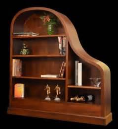 Ebony Bookcase Piano Bookcase Moveology