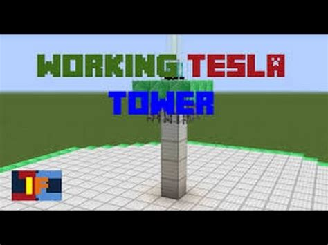 how to make a tesla tower minecraft how to make a compact tesla tower in