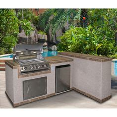 urban islands 4 burner 6 outdoor kitchen island by bull 1000 ideas about bbq island on pinterest outdoor