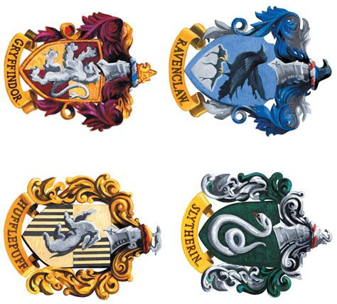 houses of harry potter free coloring pages of hogwarts house crests