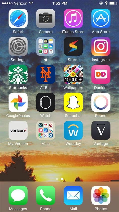 post your iphone home screens iphone
