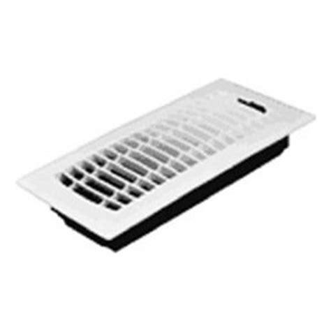 American Metal Products 4x10 Wht Flr Register 585029 Ceiling Heat Registers