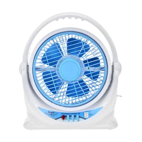 Kipas Angin Maspion Power Fan jual maspion jf122 box fan kipas angin meja biru 10