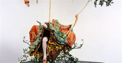yinka shonibare the swing yinka shonibare mbe the swing after fragonard 2001