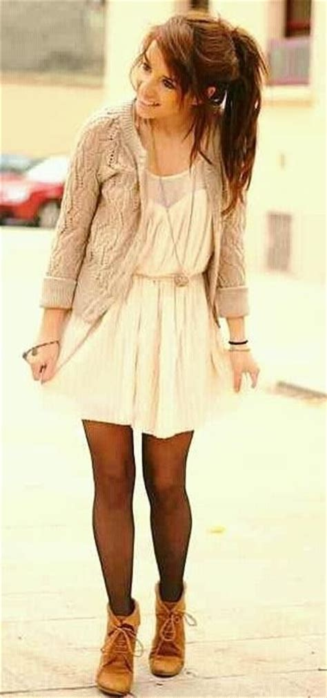 fall dresses with boots fall dress tights boots my style