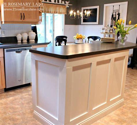 21 rosemary lane board batten kitchen island makeover