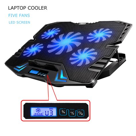laptop stand with fan 12 15 6 inch laptop pad laptop cooler usb fan with