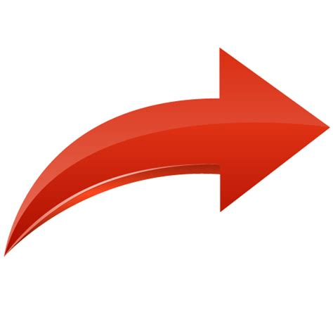 free arrow curved arrows no background www pixshark images