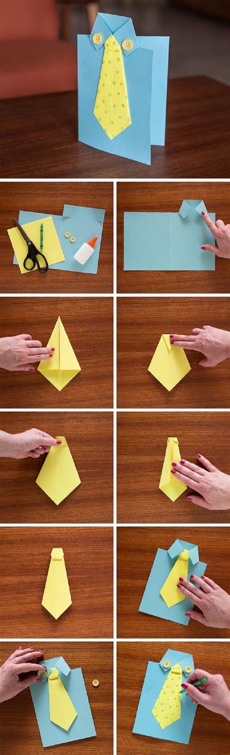 easy to make fathers day cards 14 grateful and clever diy s day gifts from