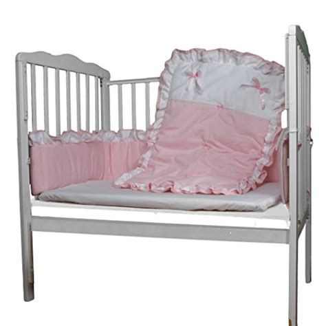 Portable Mini Crib Bedding Sets Babyoll Bedding Regal Neutral Mini Crib Portable Port A Crib Bedding Set Pink Ebay