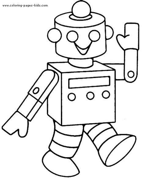 coloring pages robots robots walking smiling robots coloring pages