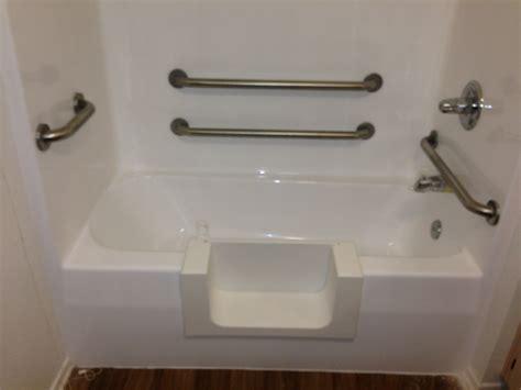 senior access bathtub conversion los angeles ca porcelain  fiberglass maintenance
