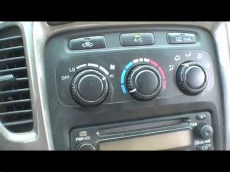 auto air conditioning repair 2003 toyota highlander security system toyota highlander a c blows hot air temporary repair tip youtube