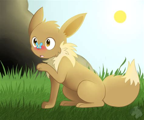 how to a timid to come timid eevee by darkaiya on deviantart