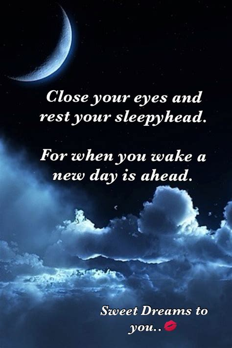 Sweet Dreams by Sweet Dreams My Quotes Of The Day