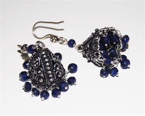 chandelier earrings blue chandelier earrings sapphire chandelier earrings blue