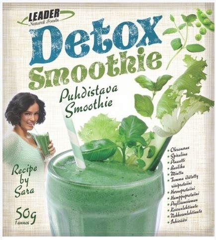 Leader Detox Smoothie leader detox smoothie 45 g tuote on poistunut